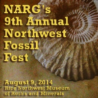 NARG 9th Annual Northwest Fossil Fest.