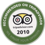 Recommended on Trip Advisor - badge.