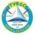 Tualitin Valley Rock and Gem Club - logo.