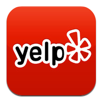 Yelp button.