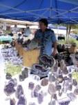 Vendor sells Amethyst.