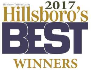 2017 Hillsboro's Best Winners logo